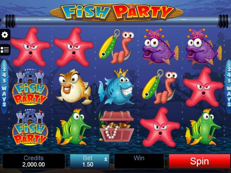 Fish Party Slot Machine
