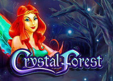The game overview of Crystal Forest slot