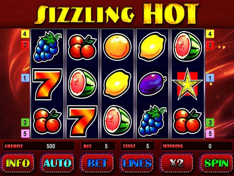 Sizzling Hot Slot Play Free